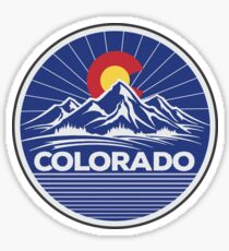 Colorado Travel Sticker Sticker