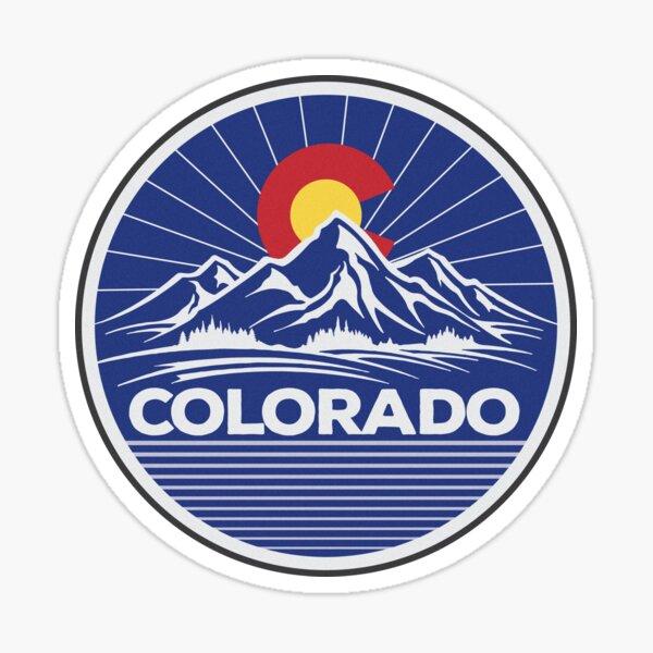 Colorado Travel Sticker Sticker