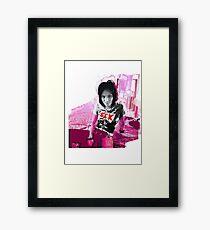 Joan Jett! Framed Print