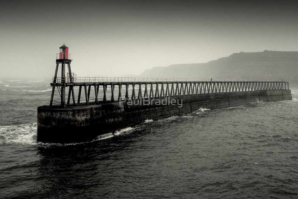 Whitby Harbour - South Marker by PaulBradley