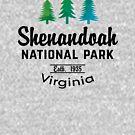 SHENANDOAH NATIONAL PARK VIRGINIA MOUNTAINS HIKING BIKING CAMPING EXPLORE NATURE by MyHandmadeSigns