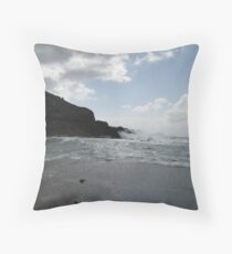 Lanzarote views Throw Pillow