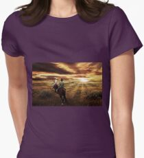 Central Queensland  Womens Fitted T-Shirt