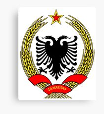 Albania Coat of Arms Canvas Print