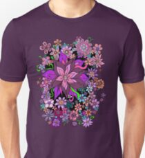 Floral Fantasy Explosion Cascade T-Shirt