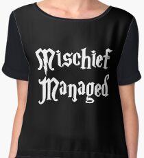 Mischief Managed  Women's Chiffon Top