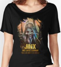 League of Legends JINX - [The Loose Cannon] Women's Relaxed Fit T-Shirt