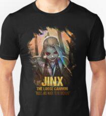 League of Legends JINX - [The Loose Cannon] T-Shirt