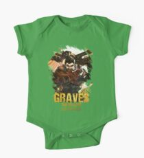 League of Legends GRAVES - [The Outlaw] One Piece - Short Sleeve