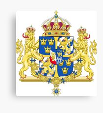 Sweden Coat of Arms Canvas Print