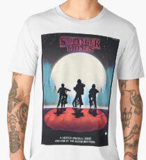 Stranger Things - Retro Design  Men's Premium T-Shirt