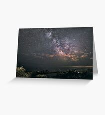 Milkyway at Loblolly Cove Greeting Card