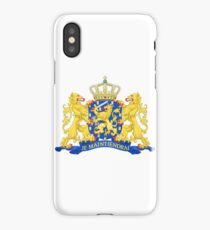 Netherlands Coat of Arms iPhone Case