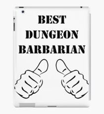 BEST DUNGEON BARBARIAN RPG Rage Class iPad Case/Skin