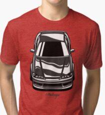 Silvia S15 Vertical (black) Tri-blend T-Shirt