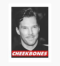 Benedict Cumberbatch Cheekbones Photographic Print