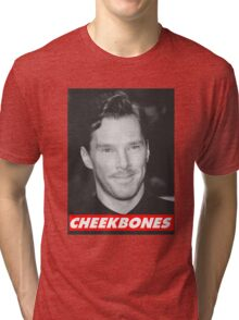 Benedict Cumberbatch Cheekbones Tri-blend T-Shirt