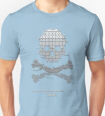 Loading glitch game over Unisex T-Shirt