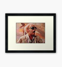 Back to the Future: Doc Brown Framed Print
