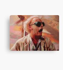 Back to the Future: Doc Brown Canvas Print
