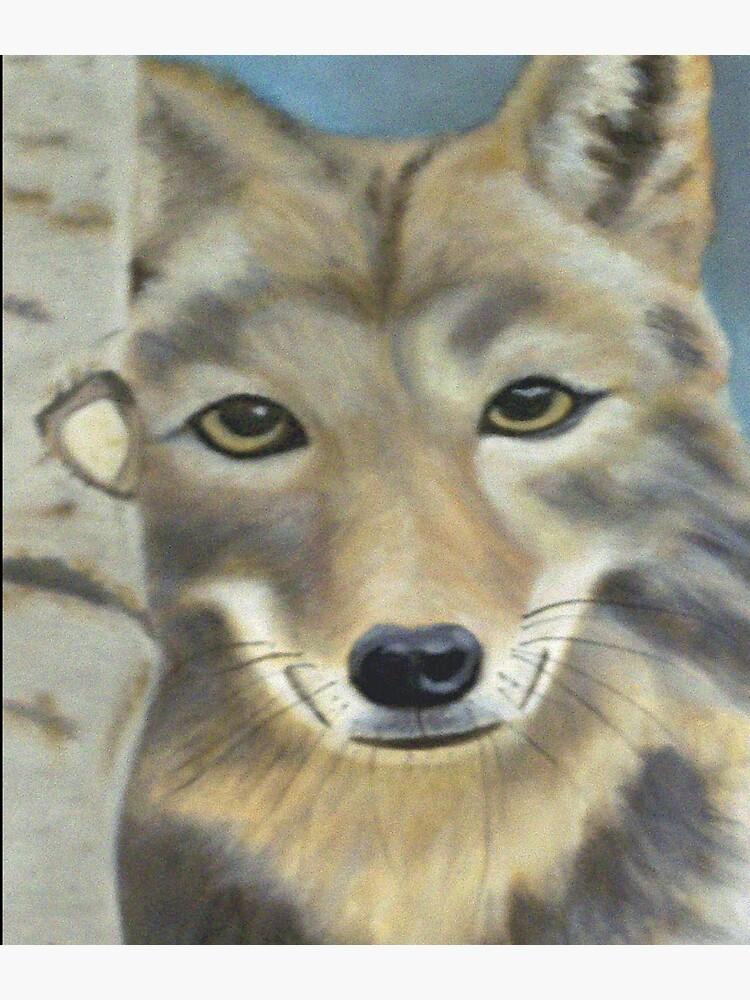 Gray Wolf by irenebernhardt
