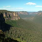 Govetts' Leap - Blue Mountains by Chris Cohen