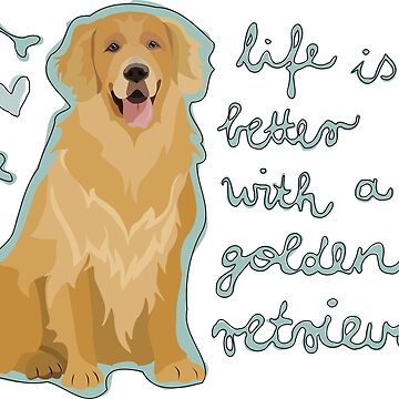 GOLDEN RETRIEVER by gumidomino