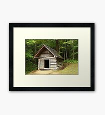 Henry's Smokehouse Framed Print