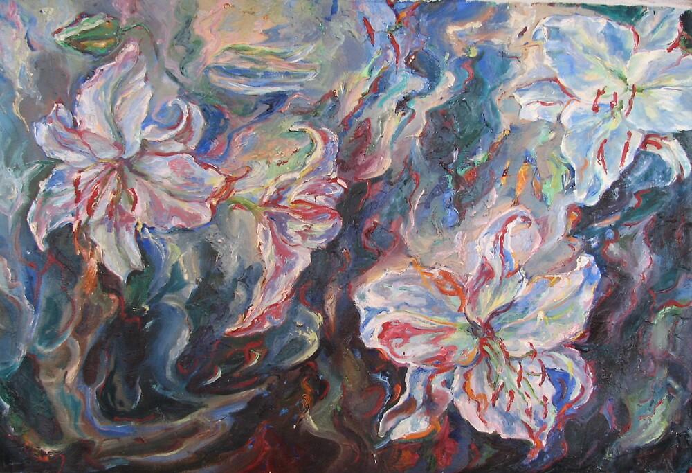 Lilies by Sokolovskaya
