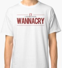 Wanna cry - ransomware cyberattack attack Classic T-Shirt