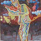 The violinist by Sokolovskaya