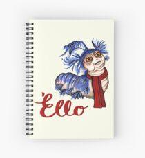 Just a worm Spiral Notebook