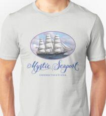 Mystic Seaport Clipper Ship Unisex T-Shirt
