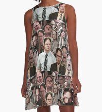 Dwight Schrute - Das Büro A-Linien Kleid