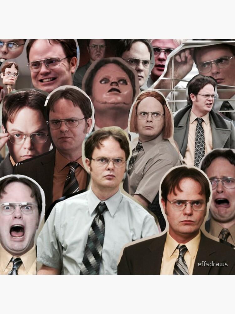 Dwight Schrute - La oficina de effsdraws