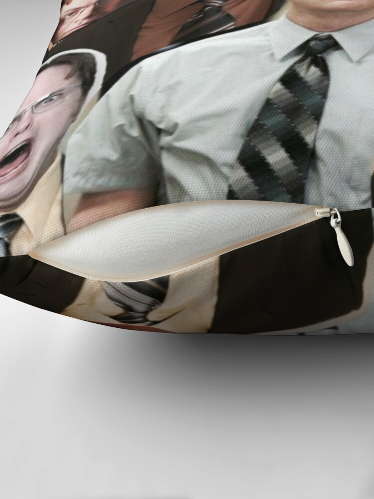 Alternate view of Dwight Schrute - The Office Throw Pillow