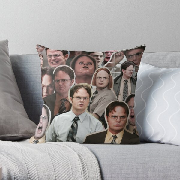 Dwight Schrute - The Office Throw Pillow