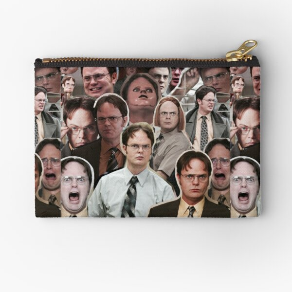 Dwight Schrute - The Office Zipper Pouch