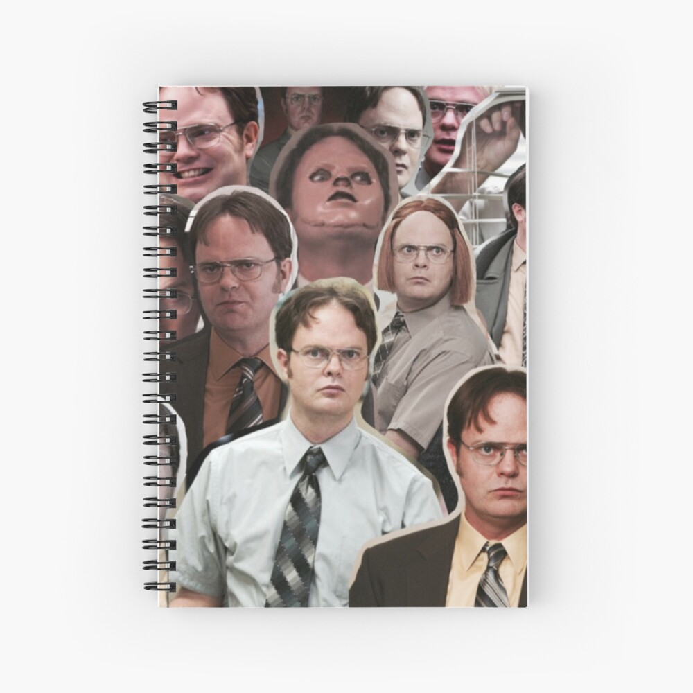 Dwight Schrute - The Office Spiral Notebook