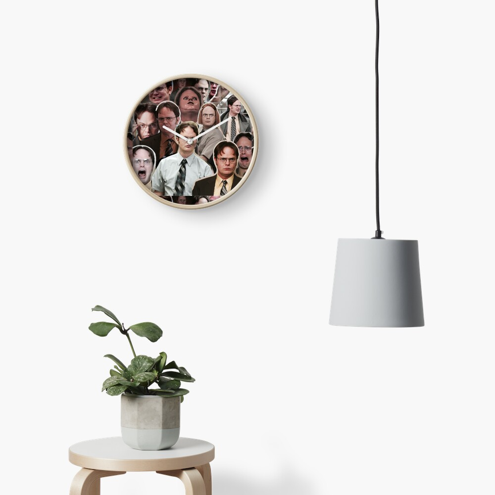 Dwight Schrute - The Office Clock