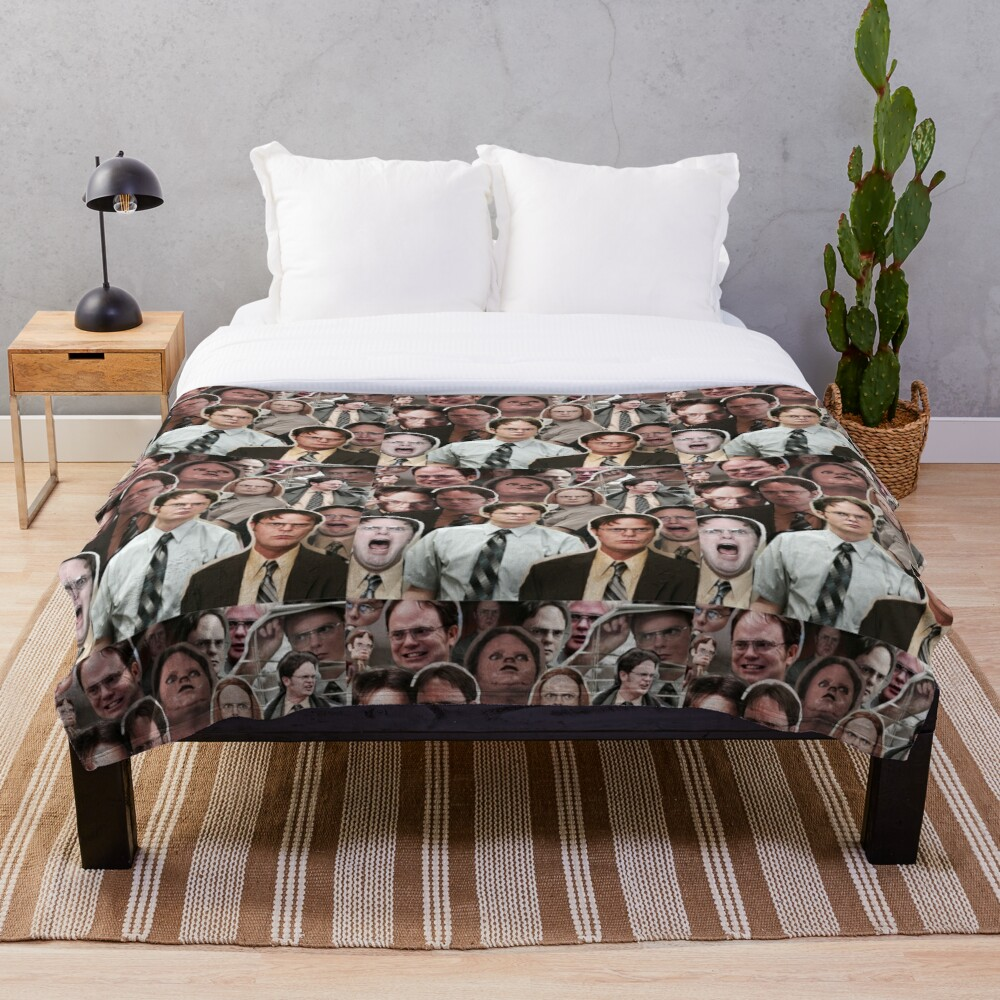 Dwight Schrute - The Office Throw Blanket