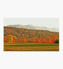 """View of the Smokies  from Mountain Home, Tennessee""... prints and products Photographic Print"