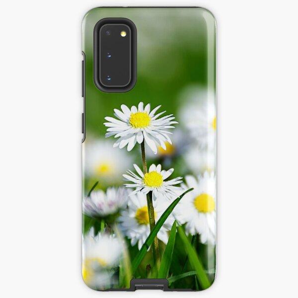 Daisy land art work. Samsung Galaxy Tough Case