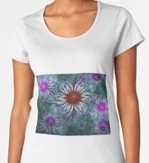 Springtime Julia Flowers  Women's Premium T-Shirt