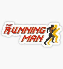 The Running Man Sticker