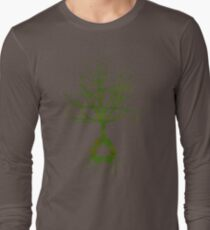 ITS EASY BEING GREEN Long Sleeve T-Shirt