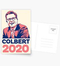 Steven Colbert für den Präsidenten Postkarten