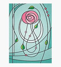 Mackintosh Rose Photographic Print