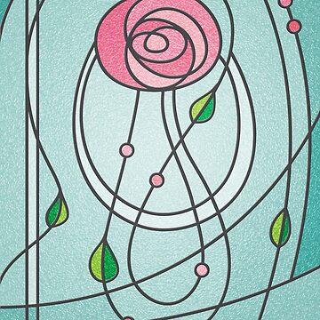 Mackintosh Rose by christymcnutt