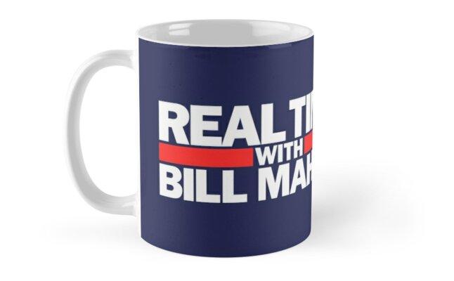 Real time with Bill Maher mug by simonZan